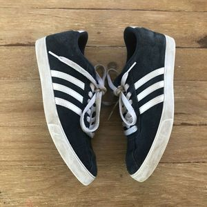 Adidas Navy Blue Suede Sneakers Womens 7.5